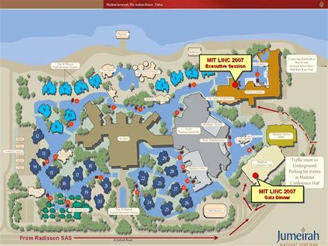 jumeirah resort map madinat jumeirah map picture image by tag