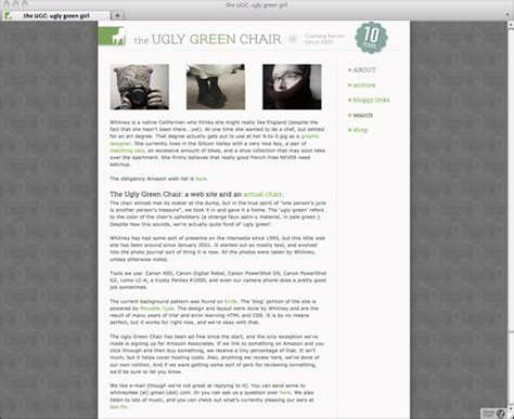 ugly green not houston design web site the ugly green chair