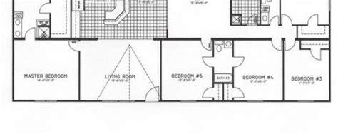 5 bedroom triple wide mobile home floor plans archives