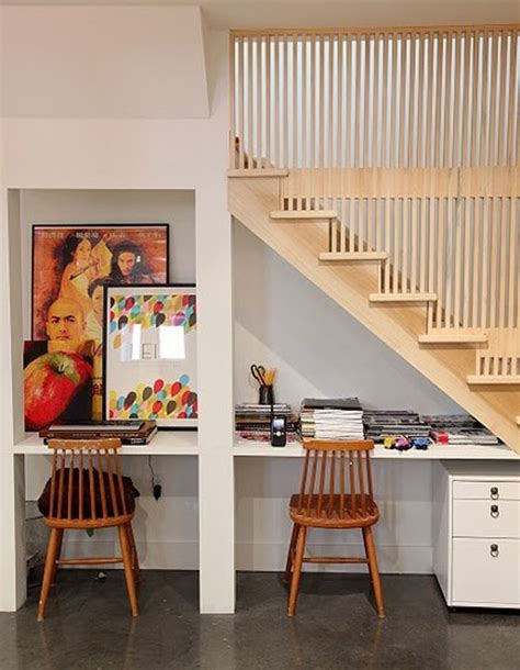 under stair storage ideas understairs work space storage ideas
