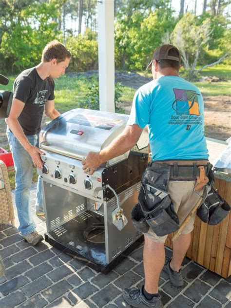 how to build a grilling island how tos diy