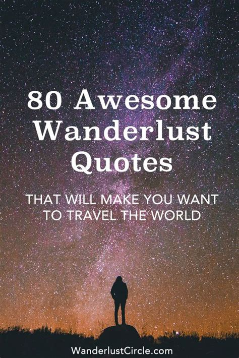 wanderlust quotes about traveling words to travel by