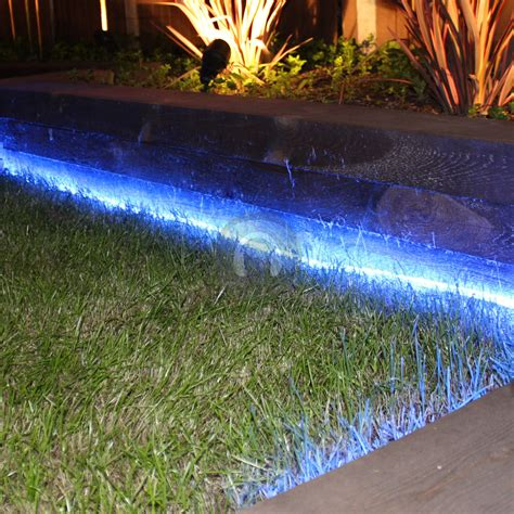 Outdoor Garden Led Lights Mega Bright 157ft Led Rope Light Home Outdoor Garden Deck Ropelight Blue Ebay