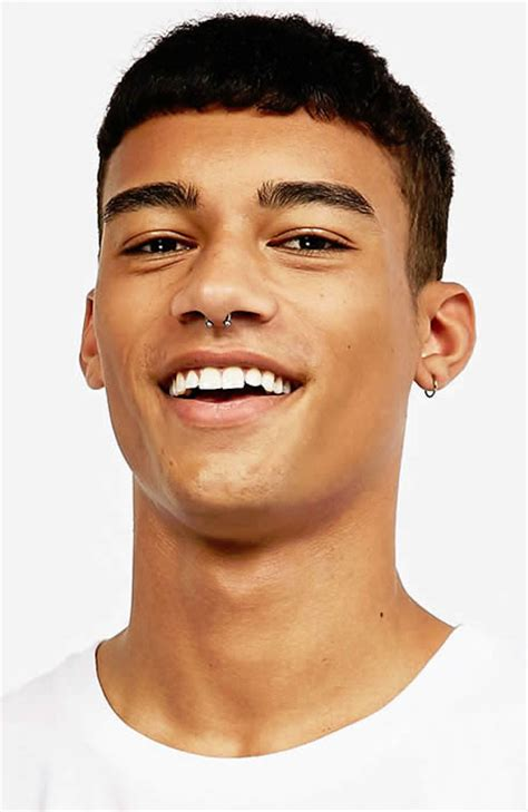 afro crop hairstyle 33 of the best men s fringe haircuts fashionbeans