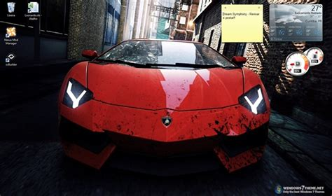 theme for windows 7 nfs most wanted need for speed most wanted windows 7 theme download