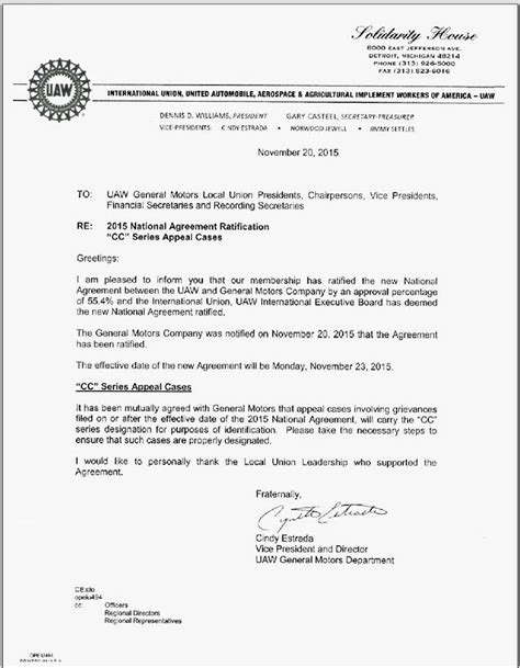 workers contract template uaw ford ratify contract