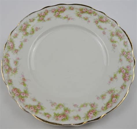 classic china patterns homer laughlin china hudson pink floral pattern salad plate