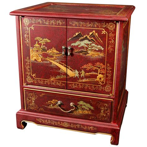 oriental sofas hand painted japanese end table ebay