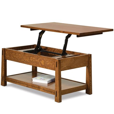 mission lift top coffee table lift top coffee table amish mission wooden coffee table