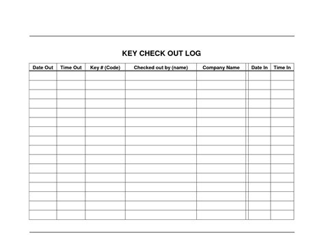 inventory sign out sheet template fill online printable