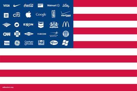 corporate how why corporate america could be the best thing to happen to you books adbusters corporate american flag graphics critical theory
