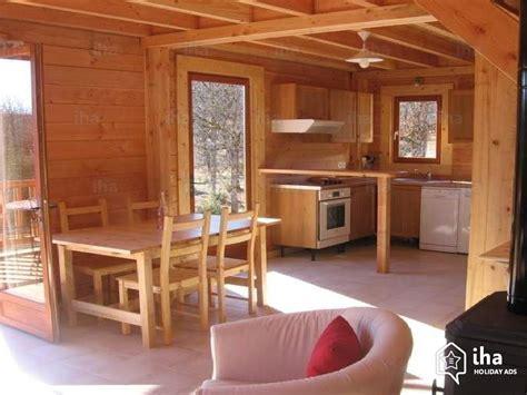 Interieur Chalet Bois Location Chalet Dans Un Domaine 224 Le Bastit Iha 72153