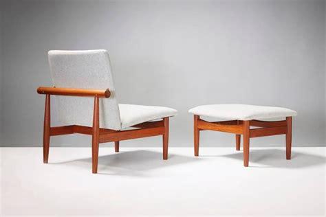 ottoman japan finn juhl model 137 japan chair and ottoman circa 1953