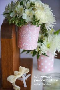 Wedding Aisle Vases by Wedding Ideas Pew Weddbook