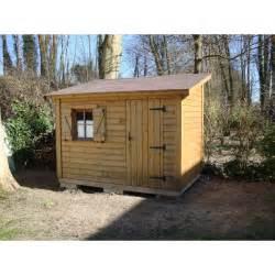 abri jardin bois abri de jardin bois en 1 pente