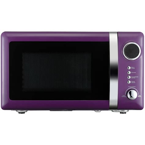 Toaster Settings Wilko Colourplay Microwave Purple 20l At Wilko Com