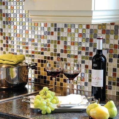 peel and stick backsplash for kitchen peel stick mosaic kitchen backsplash decozilla