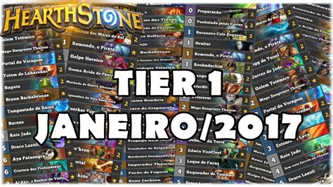 top tier decks hearthstone top decks 2017