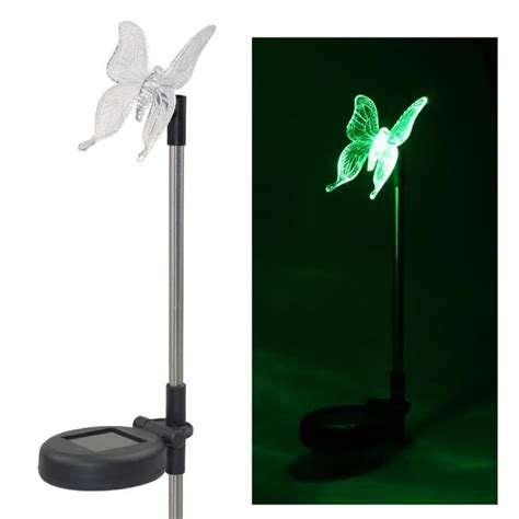 Solar Led Path Light Butterfly Shape Decorative L Party Butterfly Solar Lights Outdoor