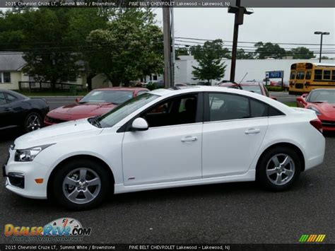 2015 Chevrolet Cruze LT Summit White / Brownstone Photo #3 DealerRevs.com