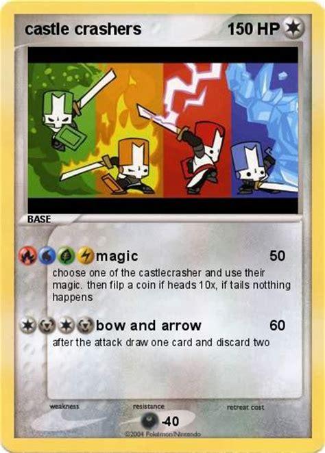 pokemon ccgcastlecom pok 233 mon castle crashers magic my pokemon card