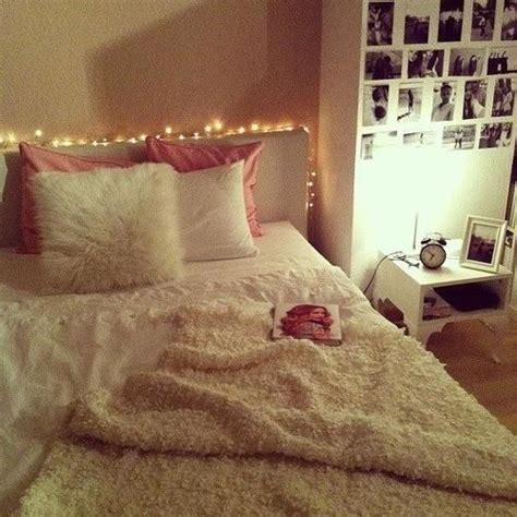 cosy teenage bedroom ideas simple teen girls bedroom pretty fairy lights
