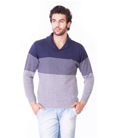 Sweater Oraqle Oracle Navycolor Acrylic V Neck Sweaters For