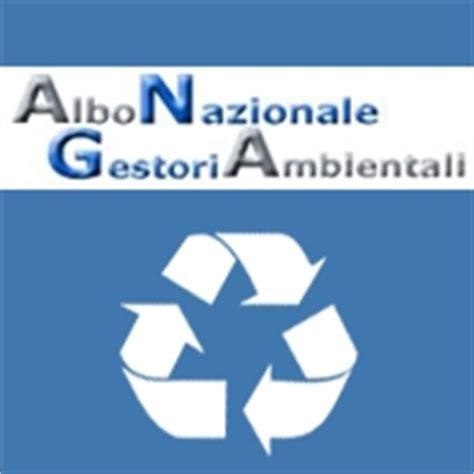 di commercio di albo gestori ambientali albo nazionale gestori ambientali pubblicato in gazzetta