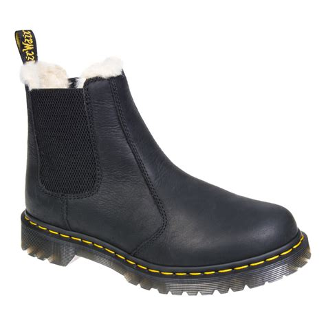 doc martens chelsea boots dr martens black leonore chelsea boots dm footwear uk