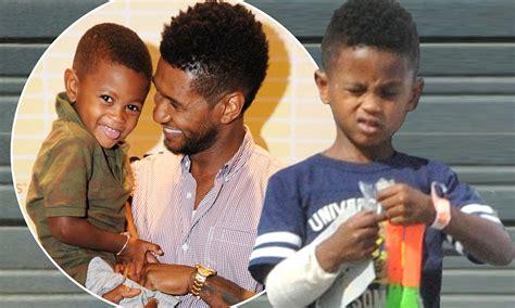 Ushers Dies In Atlanta by Usher Raymond S Brave Sports Bandage In Atlanta After