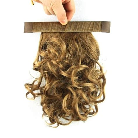 Ponytail Jepit Curlyhaircliphair Clipwig fashion curly clip in ponytail pony hair extension clip on hair