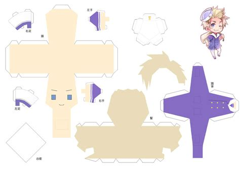 Papercraft Dolls - all hetalia paper crafts