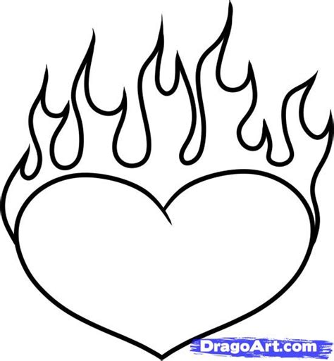 Drawing Hearts by How To Draw A On Step By Step Tattoos Pop