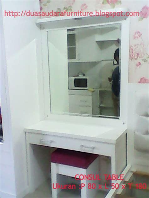 Meja Konsulmeja Konsul Laci 3 jati furniture murah apartement furniture