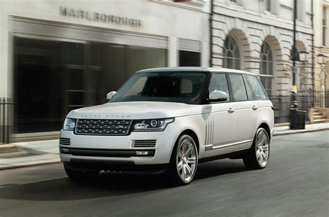land rover autobiography white 2014 range rover long wheelbase debuting at 2013 l a auto
