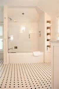 Bathroom Tub Quarter A Built In Stack Of Shelves Makes Use Of A Narrow Space