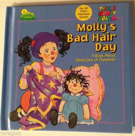 big comfy couch bad hair day the big comfy couch molly s bad hair day book loonette