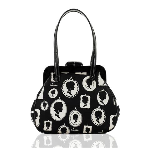 Lulu Guinness This Is The Purse by Lulu Guinness Pollyanna Bag In Cameo Frame Print