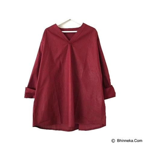 Blouse Richie jual modenesia blouse richie maroon merchant murah bhinneka