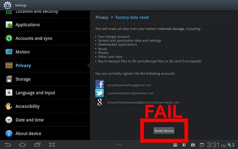 reset android virtual device broken android