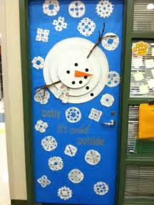 Winter Classroom Door Decorating Ideas - decorate a classroom door for winter just b cause