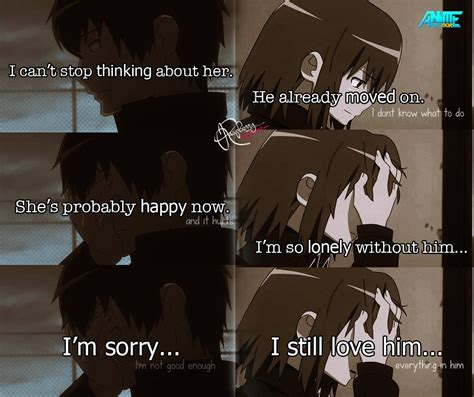 lonely anime quotes www pixshark com images galleries