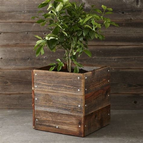 Wood For Planter Box by Planter Box Outdoor Living