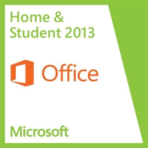 Microsoft Office Students by Office Home Student 2013 Ebuyer
