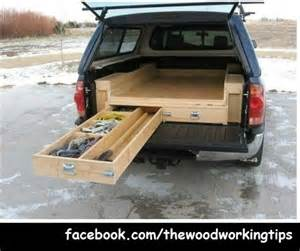 truck bed drawers plans autos post