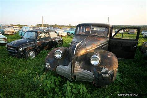 Car Dump Yards by Soviet Cars Dump Russia