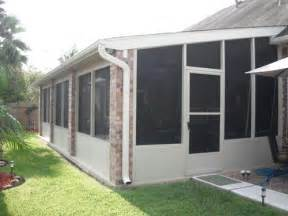 Screened Patios by Screened In Patio In Houston Tx