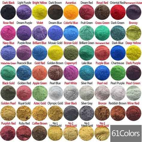 pigment colors 10g cosmetic grade mica powder pigment soap candle