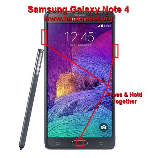 reset samsung note how to easily master format samsung galaxy note 4 sm n910f