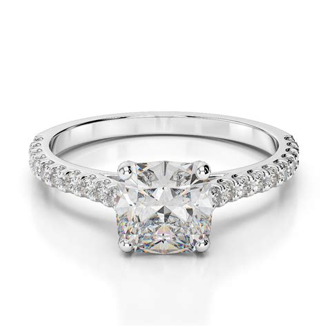 1 00 carat cushion cut d vs2 solitaire engagement
